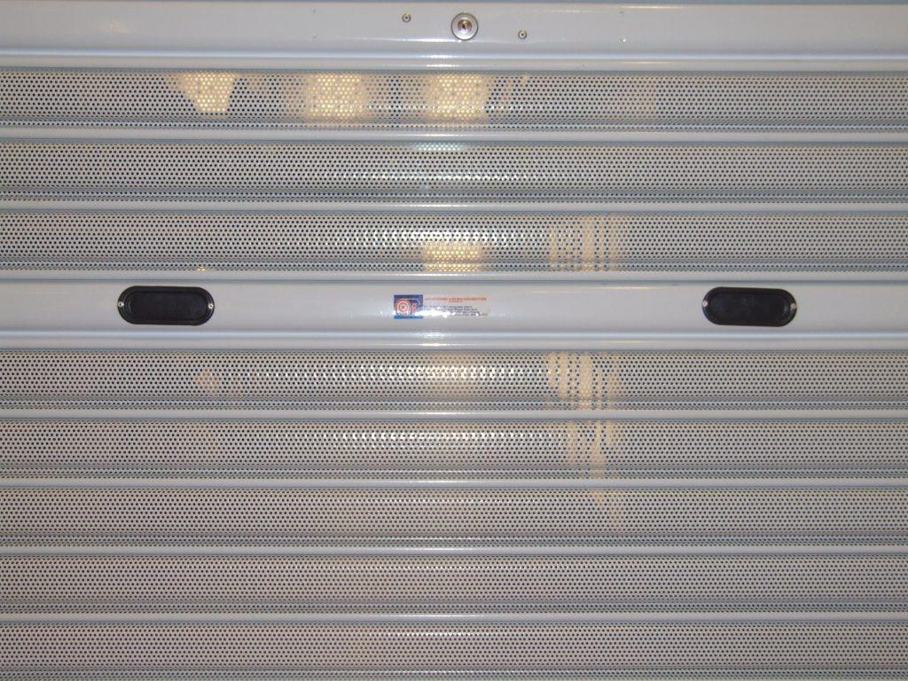 Manual Perforated Roller Shutter Andah Roller